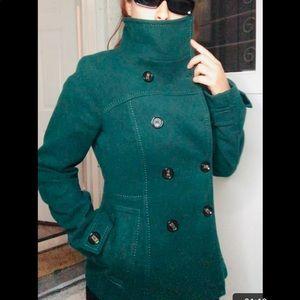 Pea Coat Button Up